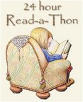 Dewey's Readathon Challenge: A Book and a Snack